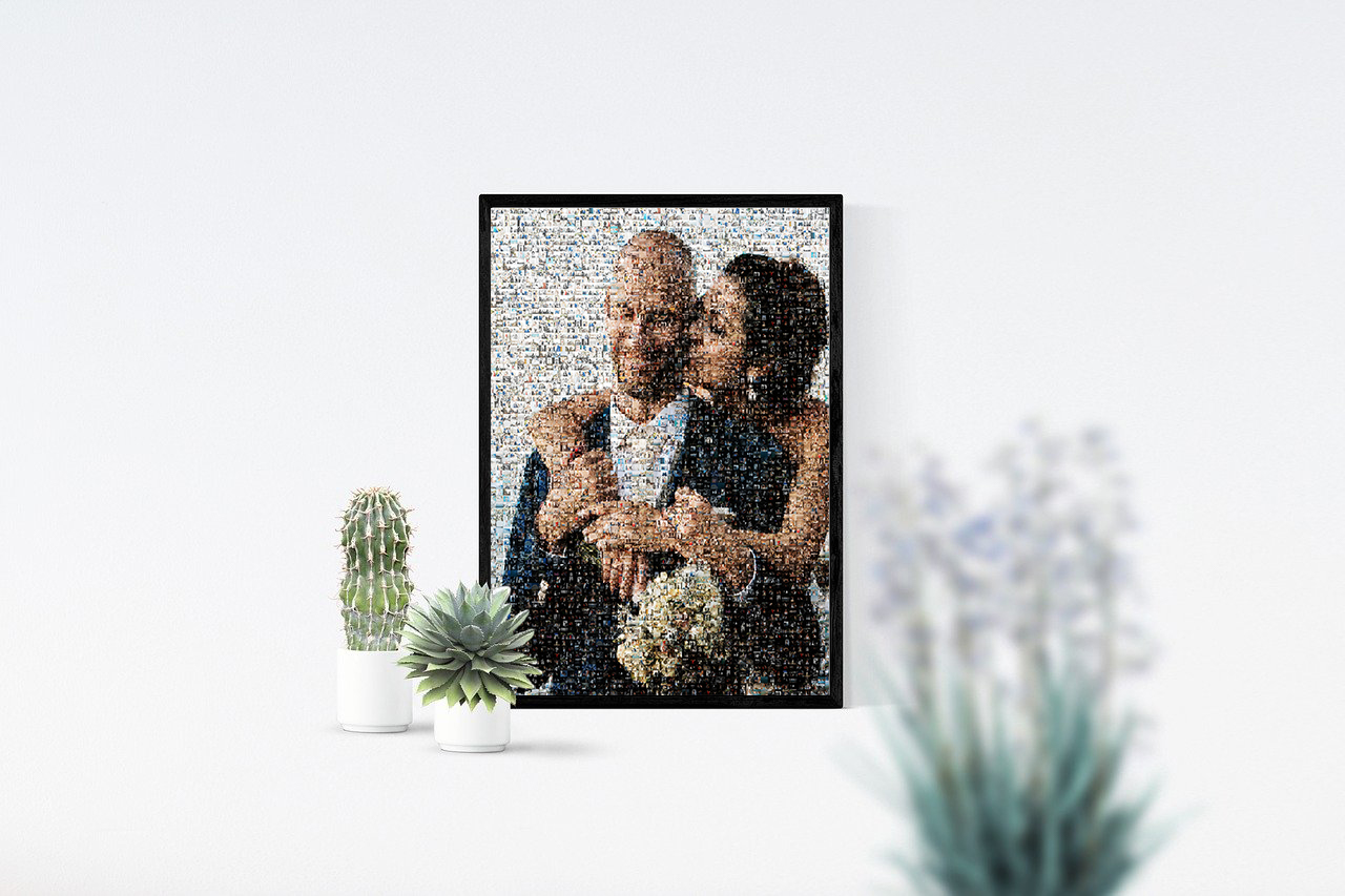 Mozaiek foto design